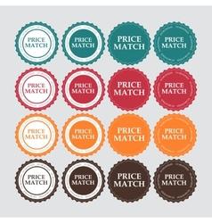 Price match label vector