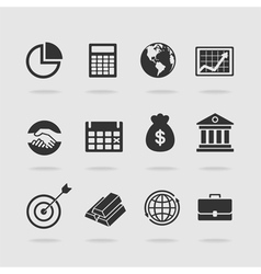 Items banker vector image vector image
