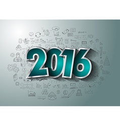 2016 Business Conceptual creative drawing business vector