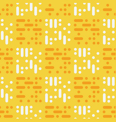 dots tiles abstract seamless pattern vector image