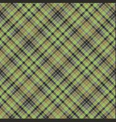 Green check plaid tartan seamless pattern vector