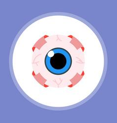 Halloween eyeball icon sign symbol vector