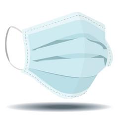 Medical mask vector