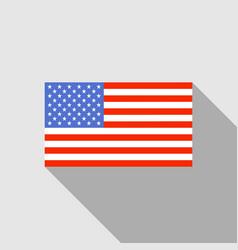 Usa flag image of flag flag background vector