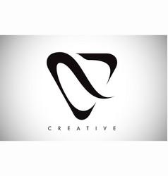 V letter modern trendy design logo letter icon vector