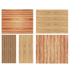 Wooden patterns vector