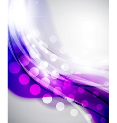 Colorful abstract wave backgrounds vector image vector image