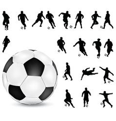 football players 2 vector image