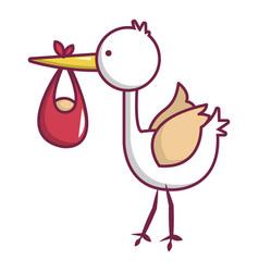 baby hobbledehoy icon cartoon style vector image