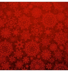 Seamless deep red christmas pattern EPS 10 vector image vector image
