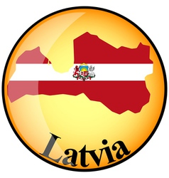 Button Latvia vector