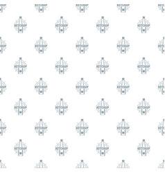 ketchup pattern seamless vector image