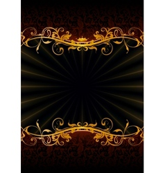 Luxury Wallpaper Backdrop vector image