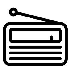 Media icon black and white vector