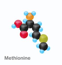 Molecule of methionine met an amino acid used in vector