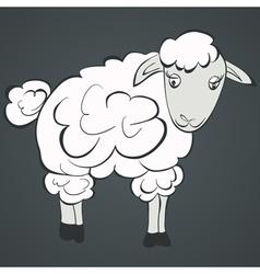 Of sheep vector