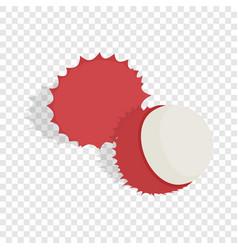 rambutan isometric icon vector image