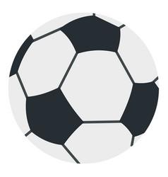 Soccer or football ball icon isolated vector