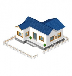 rich house vector image vector image