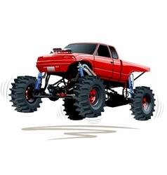 Monster truck vector