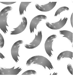 seamless pattern with brush vector image