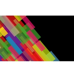 Abstract background from geometrical figures vector image vector image