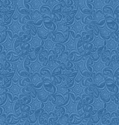 Azure seamless asymmetric star pattern background vector