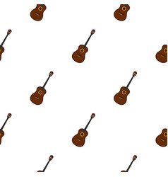 Charango music instrument pattern seamless vector