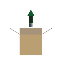 Product release icon vector