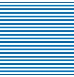 Striped blue seamless pattern vector image