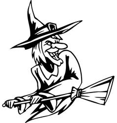 Witch - halloween set - vector