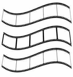 photo film strip warp vector image