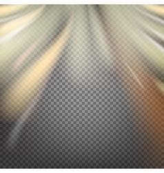Shiny smoke streams vector image