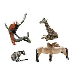 Wild animals II vector image vector image
