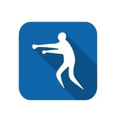 Sportsman man boxer vector image vector image