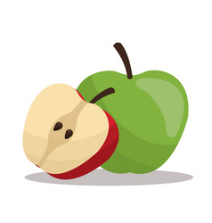 Apples nutrition healthy image vector