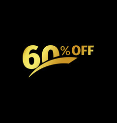 Black banner discount purchase 60 percent sale vector