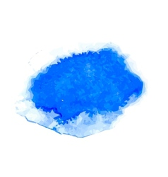 blue watercolor vector image vector image