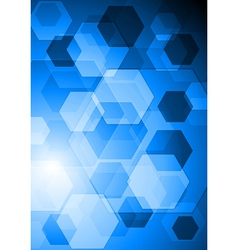 Bright hi-tech background vector image