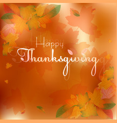 Postcard for congratulations with thanksgiving vector