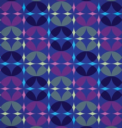 Infinity Circles Seamless Pattern vector image