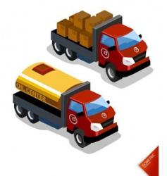 Oil truck vector