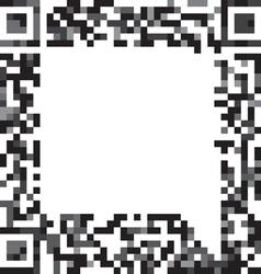 Abstract speech cloud vector image