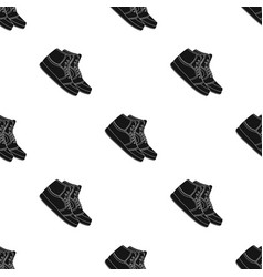 basketball shoesbasketball single icon in black vector image