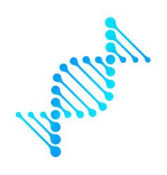 Dna icon rna gene fun funny chromosome line vector