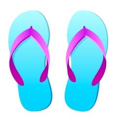 Flip flops vector