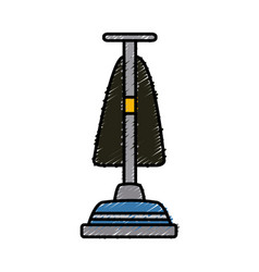 Hoover vacuum cleaner vector