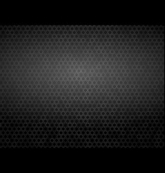 white outline hexagon background vector image