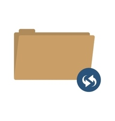 Folder symbol to update files vector