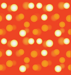 3d polka dots seamless pattern vector image
